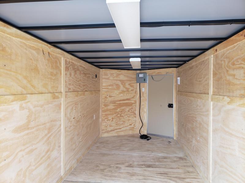 2019 Quality Cargo 7x16 TA Enclosed Cargo Trailer
