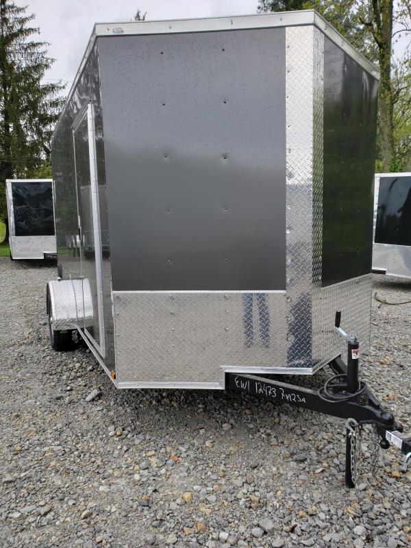 2019 Quality Cargo 7x12SA Enclosed Cargo Trailer