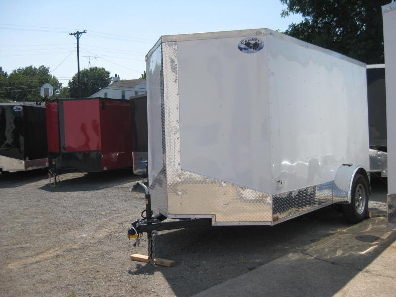 2018 Quality Cargo 6x10SA Enclosed Cargo Trailer