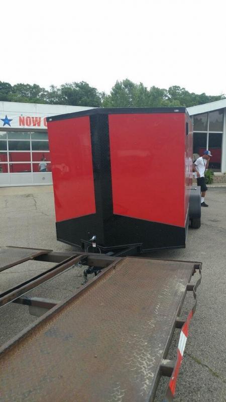 2019 Quality Cargo 7x14TA Enclosed Cargo Trailer