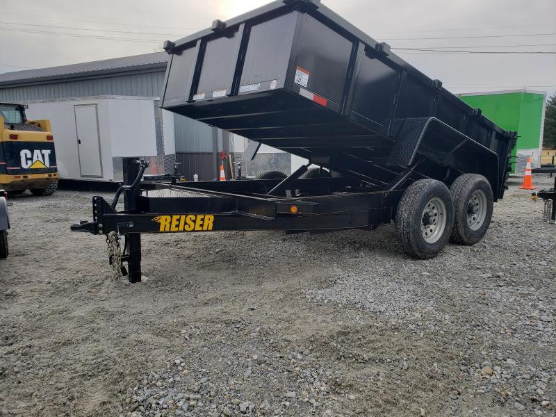 2019 Reiser Trailers 82x12 dump Dump Trailer in Ashburn, VA
