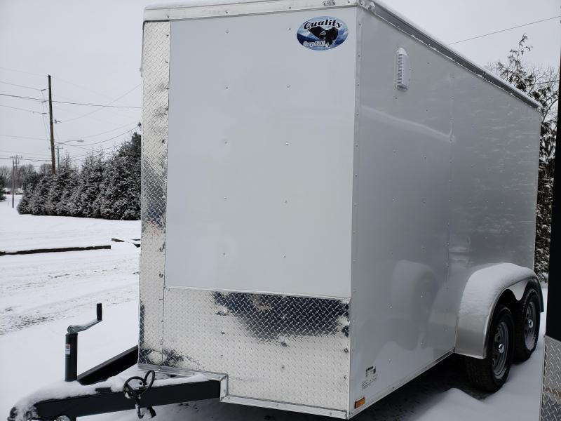 2019 Quality Cargo 7x12-TA Enclosed Cargo Trailer