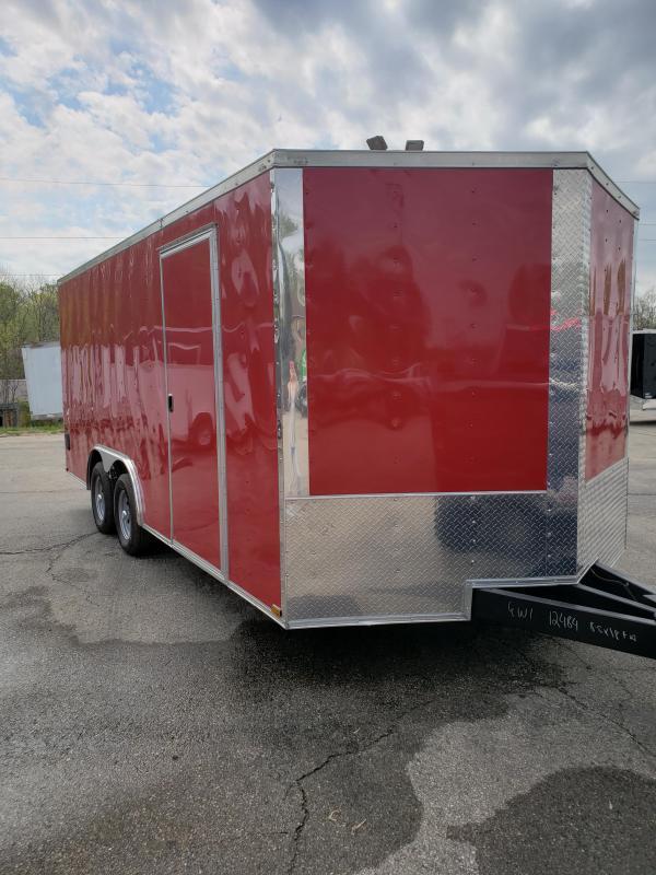 2019 Quality Cargo 8.5x18TA Car / Racing Trailer