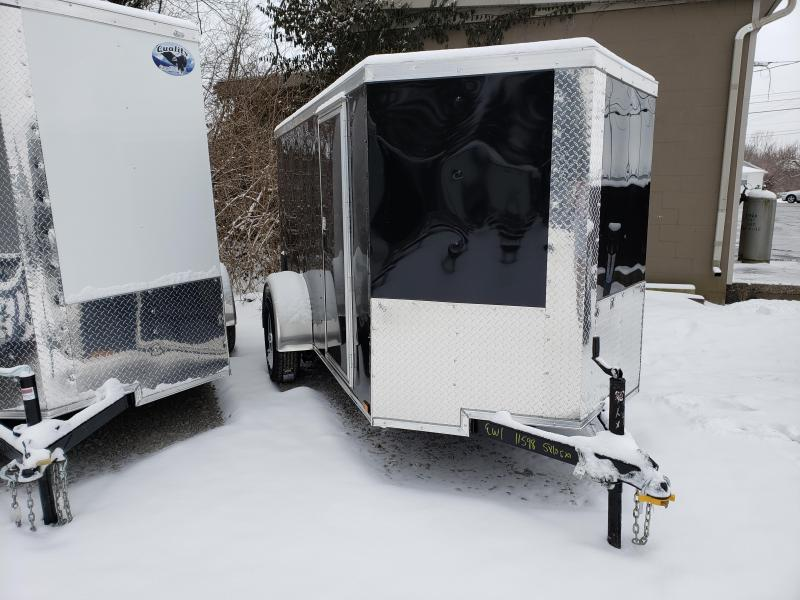 2019 Quality Cargo 5x10 SA Enclosed Cargo Trailer