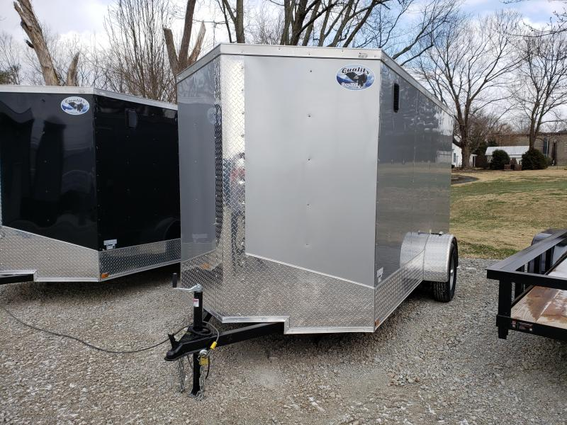 2019 Quality Cargo 6x12SA Enclosed Cargo Trailer