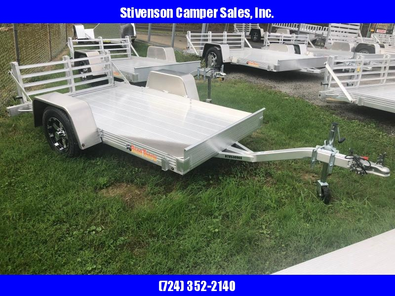 "2018 Bear Track Model BTU5396S (4'4"" x 8') Single Axle Utility Trailer"