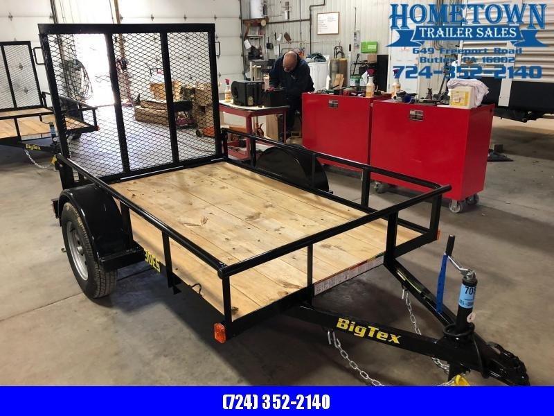 2019 Big Tex 30ES-8 (5' x 8') Economy Single Axle Utility Trailer in Ashburn, VA