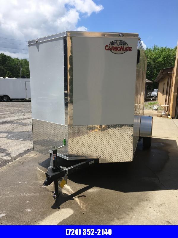 2019 Cargo Mate 6x10 Enclosed Cargo Trailer