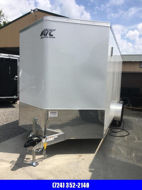 2020 ATC 7x16 Enclosed Cargo Trailer