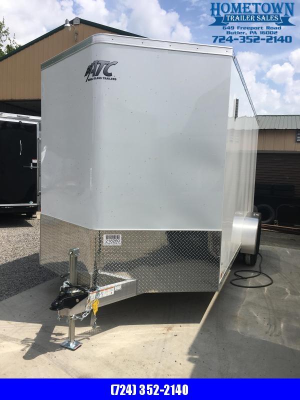 2020 ATC 7x16 Enclosed Cargo Trailer in Ashburn, VA