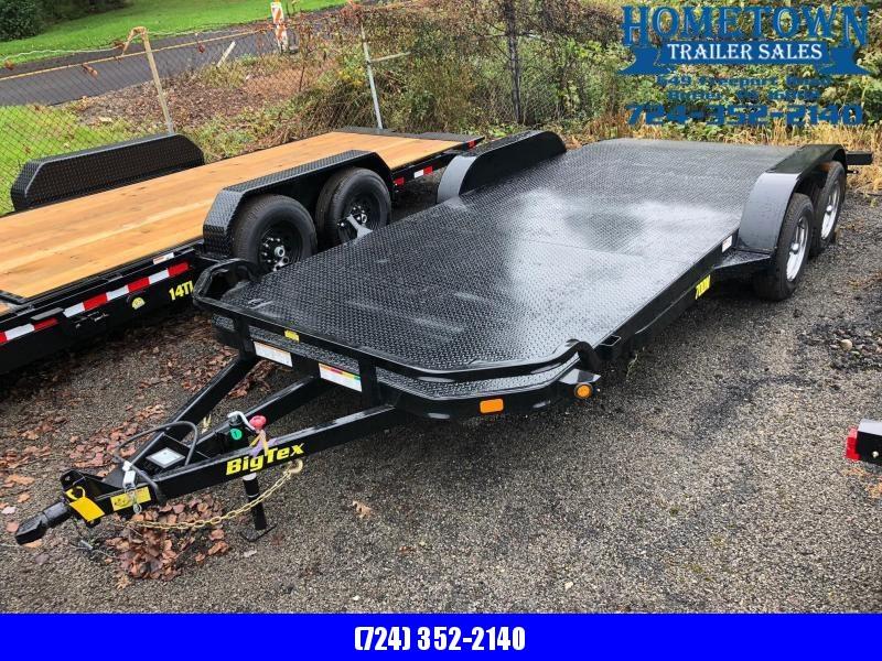 """2019 Big Tex (6'9"""" x 18') Tandem Axle Car Hauler in Ashburn, VA"""