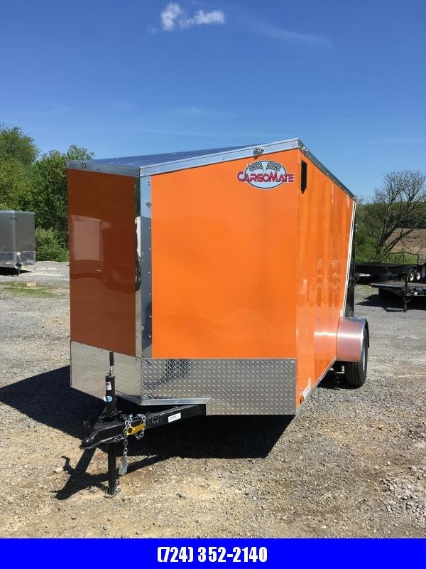 2019 Cargo Mate 6x12 Enclosed Cargo Trailer