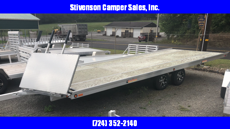 2017 Bear Track Model BTS99264S (8' x 22') Snowmobile Trailer in Ashburn, VA
