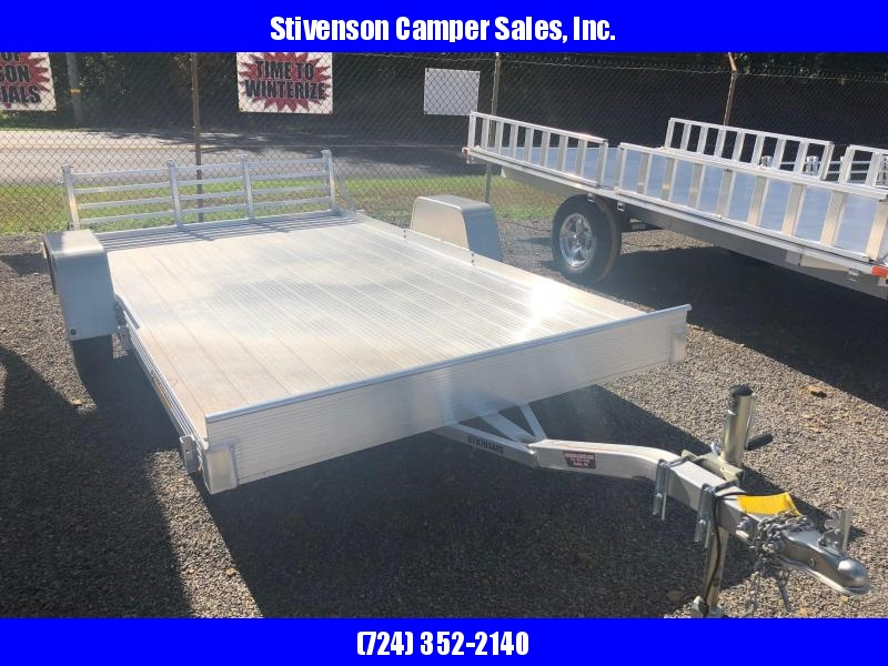 "2017 Bear Track Model BTU76144S (6'3"" x 12') Single Axle Utility Trailer"