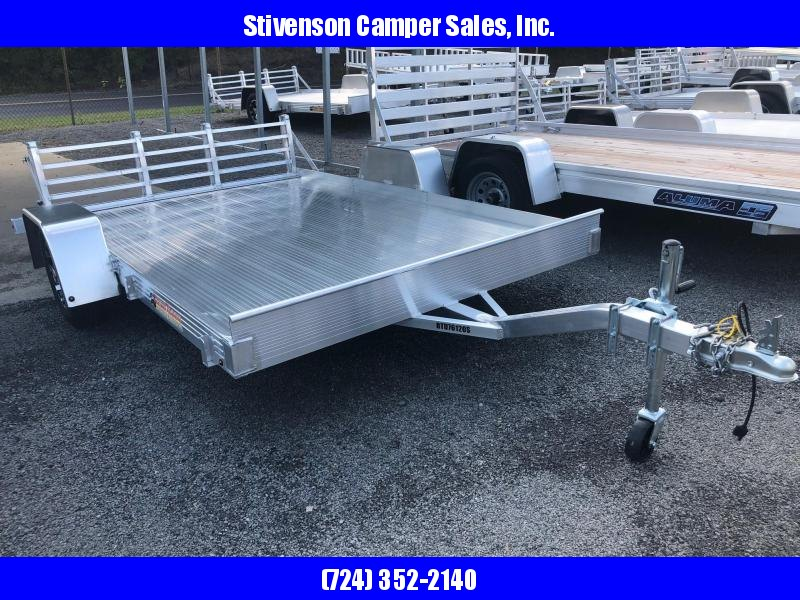 "2018 Bear Track Model BTU76120S Single Axle (6'3"" x 10') Utility Trailer"