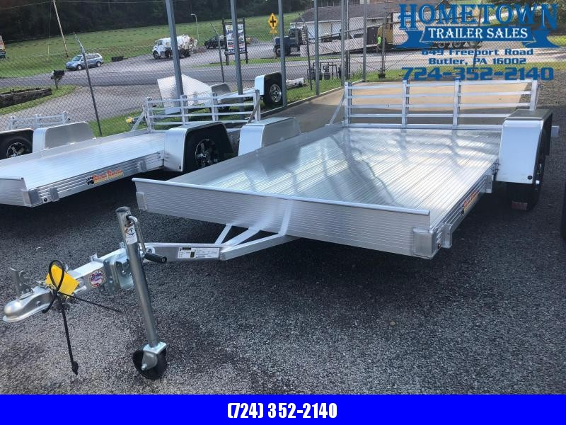 "2018 Bear Track Model BTU76120S Single Axle (6'3"" x 10') Utility Trailer in Ashburn, VA"