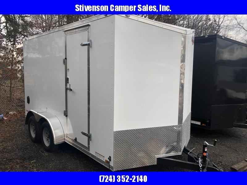 2019 Cargo Mate Model EHW714TA2 (7' x 14') Tandem Axle Enclosed Cargo Trailer