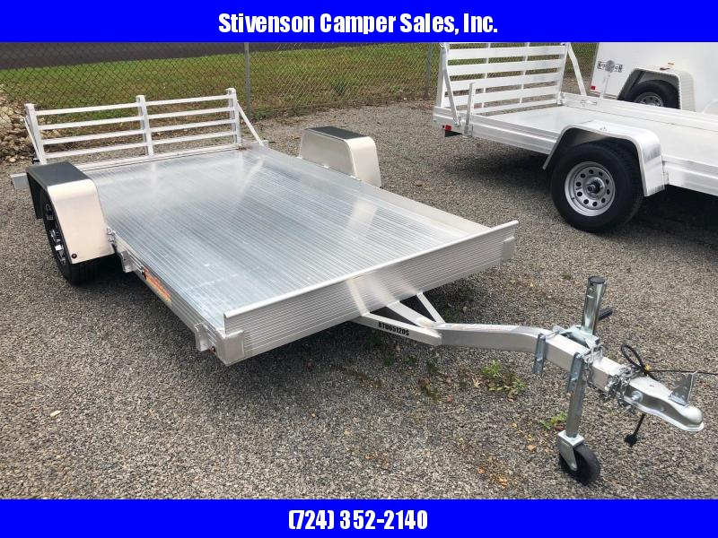 "2018 Bear Track Model BTU65120S Single Axle (5'4"" x 10') Utility Trailer w/ Bi-fold Ramp"