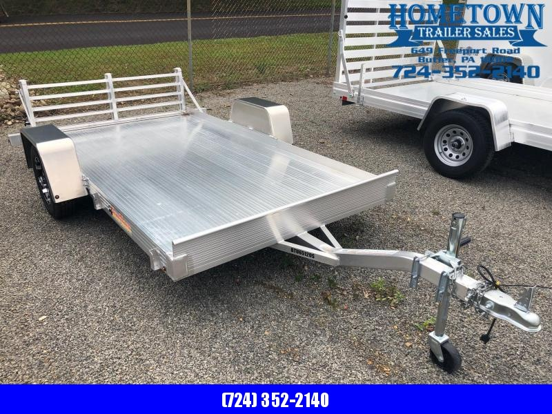 "2018 Bear Track Model BTU65120S Single Axle (5'4"" x 10') Utility Trailer w/ Bi-fold Ramp in Ashburn, VA"