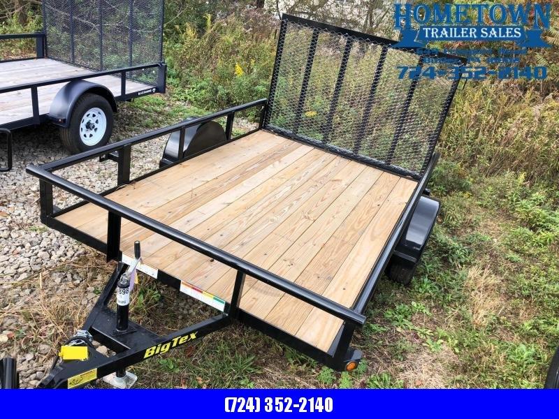 "2019 Big Tex (6'4"" x 10') Single Axle Utility Trailer in Ashburn, VA"