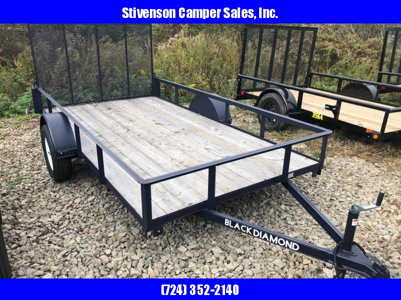 "2018 BLACK DIAMOND (6'4"" x 12') Single Axle Utility Trailer"