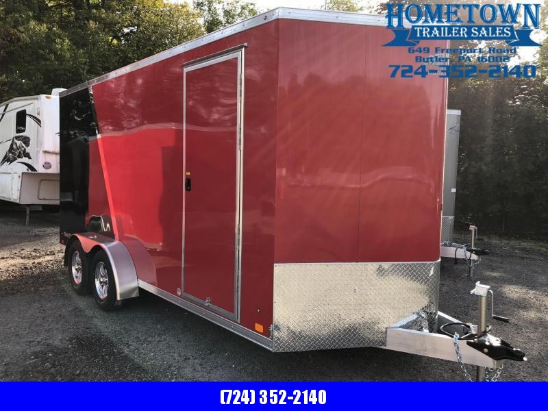 2019 ATC RAVEN (7' x 16') Tandem Axle Enclosed Cargo Trailer in Ashburn, VA