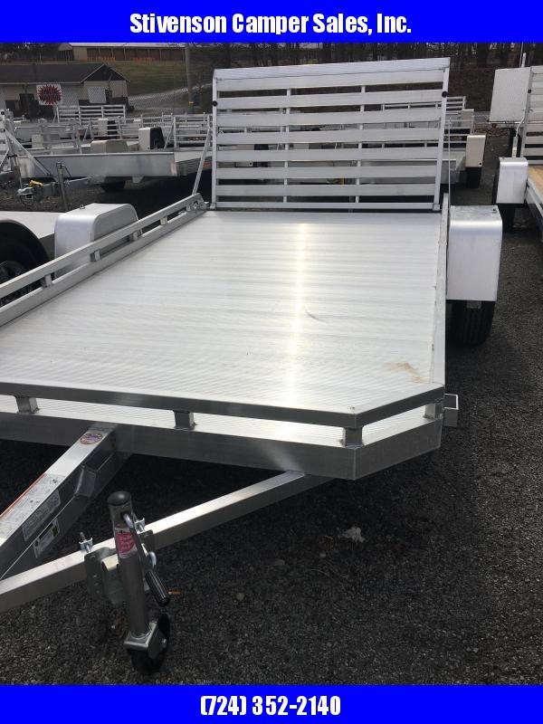 "2020 Aluma Model 7712H Single Axle (6'4"" x 12') Utility Trailer"