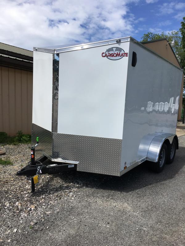 2020 Cargo Mate 7x12 Enclosed Cargo Trailer