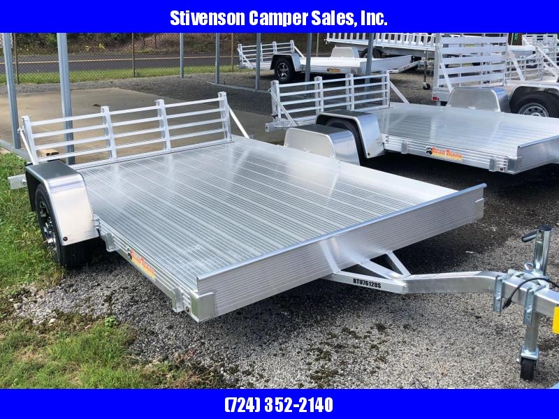 "2018 Bear Track Model BTU76120S (6'3"" x 10') Single Axle Utility Trailer"