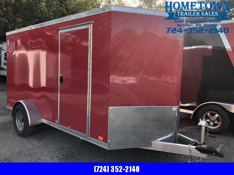 2019 ATC RAVEN (6' x 12') Single Axle Enclosed Cargo Trailer w/ Ramp in Ashburn, VA