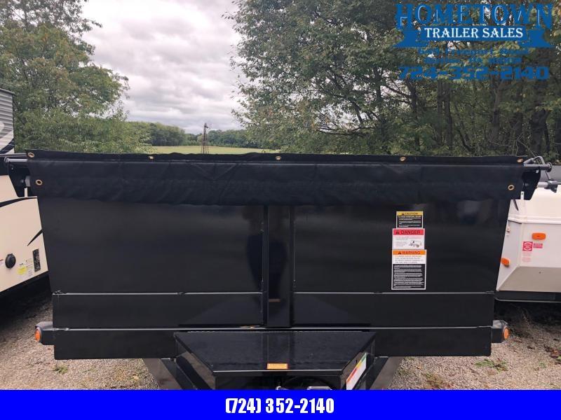 "2019 Big Tex (6'9"" x 14') Tandem Axle Dump Trailer in Ashburn, VA"