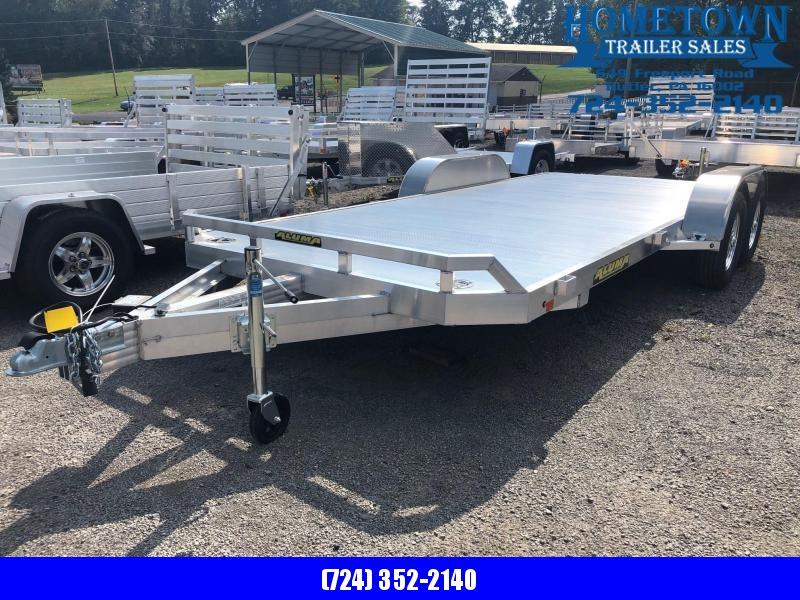 """2019 Aluma (6'10"""" x 18')  Model  8218B Tandem Axle Car Hauler in Ashburn, VA"""