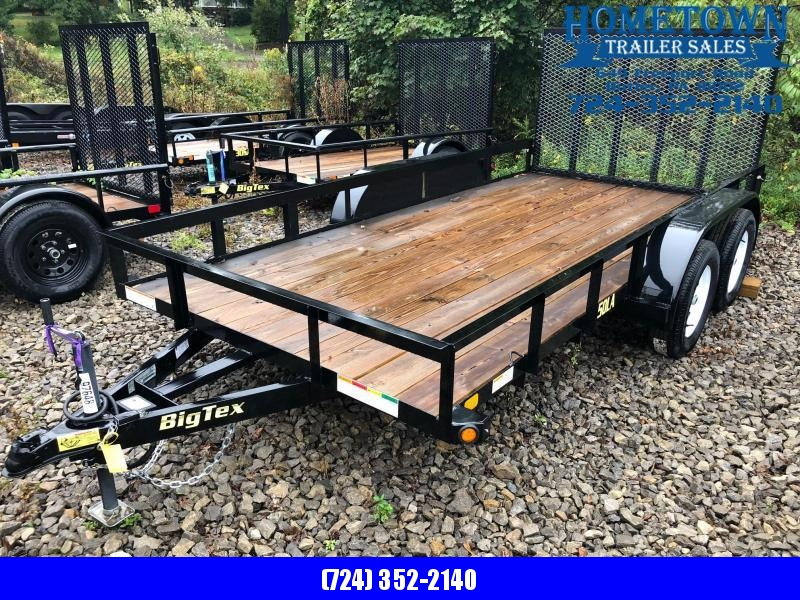 "2018 Big Tex 50LA-14 (6'4"" x 14') Tandem Axle Utility Trailer in Ashburn, VA"