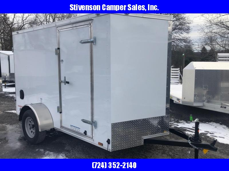 2019 Cargo Mate Model EHW610SA (6' x 10') Single Axle Enclosed Cargo Trailer