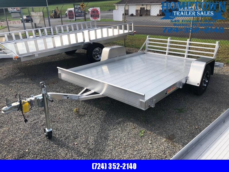 "2018 Bear Track Model BTU76120S (6'3"" x 10') Single Axle Utility Trailer in Ashburn, VA"