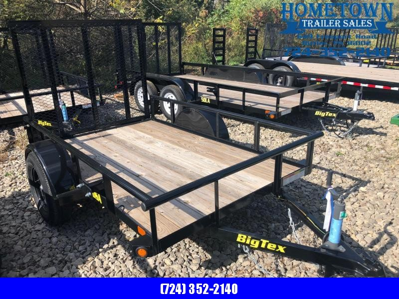 2018 Big Tex 30SA-8 (5' x 8') Single Axle Utility Trailer in Ashburn, VA