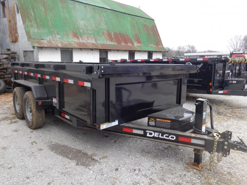 Delco 83 x 14' Low-Pro 14000# Bumper Pull Dump Trailer in Ashburn, VA