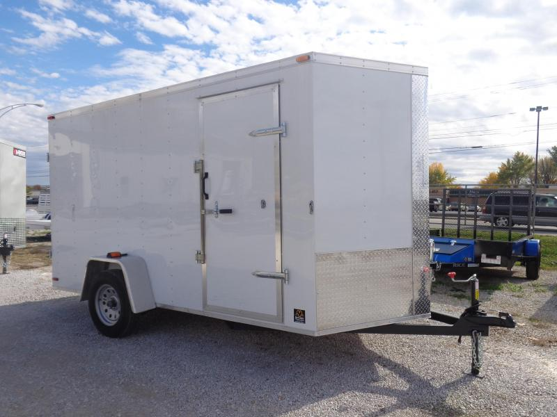 Box Cargo 6 x 12 Bumper Pull Enclosed Cargo Trailer