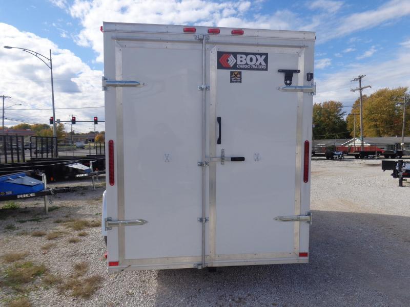 2019 Box Cargo 6 x 12 Enclosed Cargo Trailer