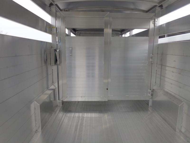 2020 Hillsboro 26' x 7' Endura Aluminum Gooseneck Stock Trailer