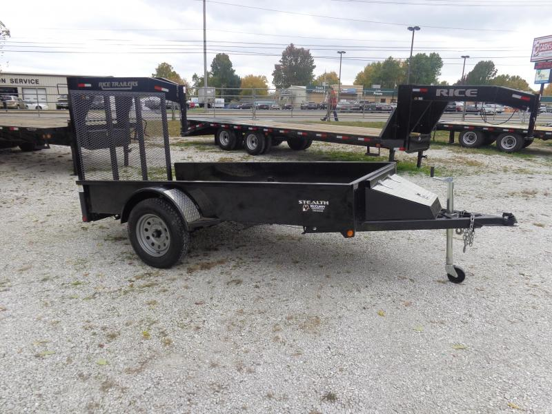 USED 2013 Rice 5' x 10' Stealth Utility Trailer