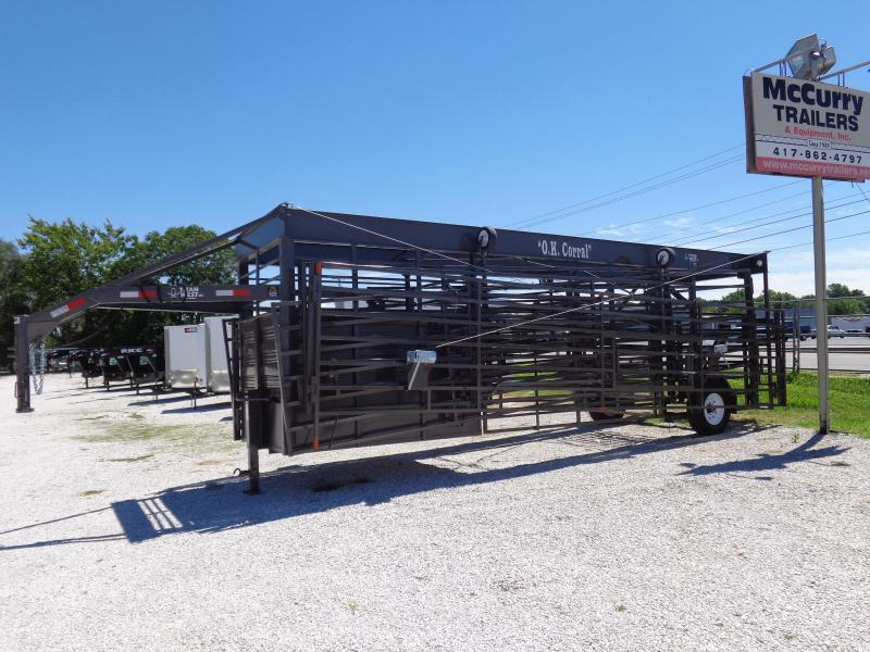 O.K. Corral (Original) BROWN INCLUDES 4 FOLD DOWN WHEELS & 2 MAN GATES!! AVAILABLE IN STOCK