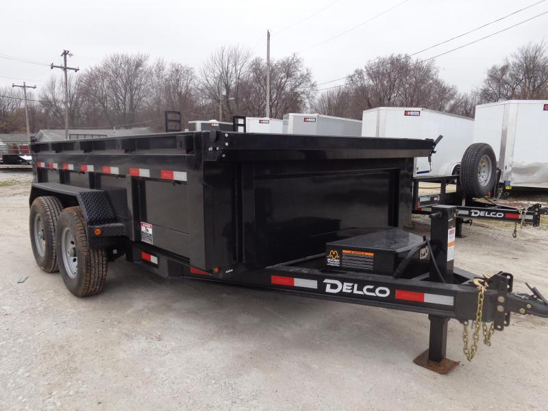 Delco 83 x 12' Low-Pro 14000# Bumper Pull Dump Trailer in Ashburn, VA