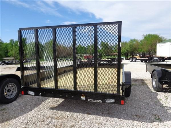 "Rice 82"" x 14' Bumper Pull Stealth Black"