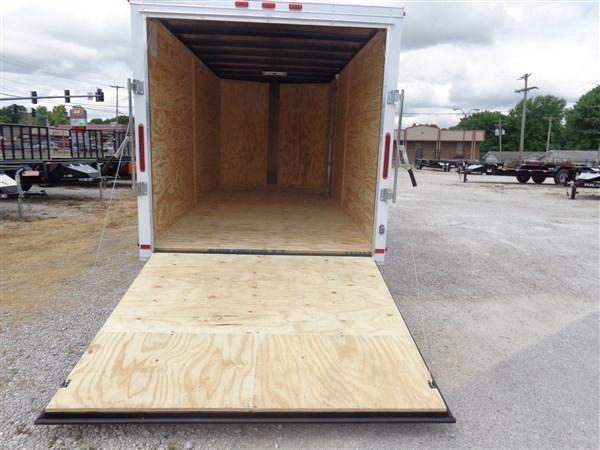 Maxwell 7' x 16' Bumper Pull Enclosed Cargo Trailer