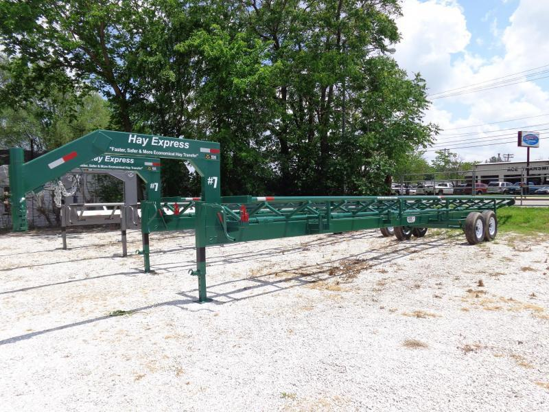 37' Hay Express Gooseneck Trailer