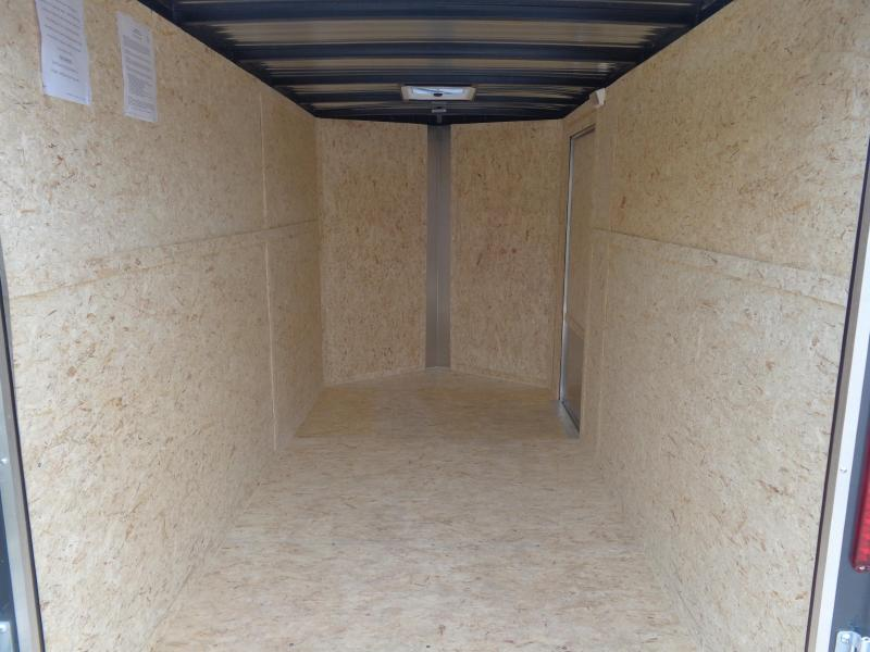 Box Cargo 6' x 12' Bumper Pull Enclosed Cargo