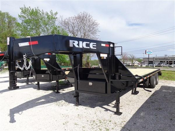Rice 102 x 20'+5' 22000 Gooseneck Deckover in Lowell, AR