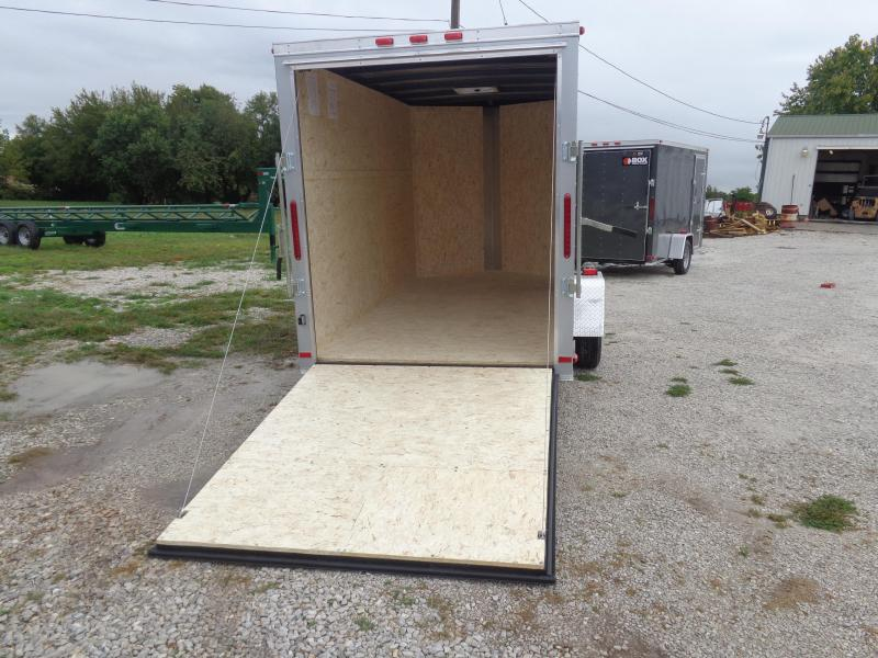 2019 Box Cargo 6' x 12' Bumper Pull Enclosed Cargo