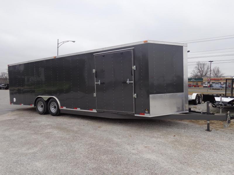 2019 26 x 8'6 Box Cargo Box Cargo Enclosed Cargo Trailer